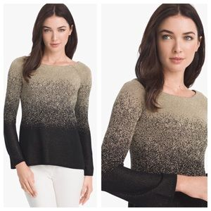WHBM Gold Ombré Sweater NWT XS